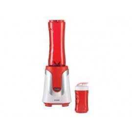 Domo DO434BL Blender Smoothiemaker met 2 Flesjes Rood